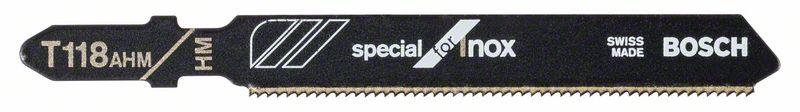 Decoupeerzaagblad T118 AHM Special for Inox 3x