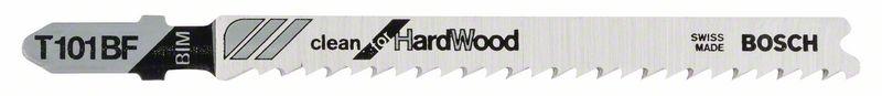 Decoupeerzaagblad T101 BF Clean for Hard Wood 5x