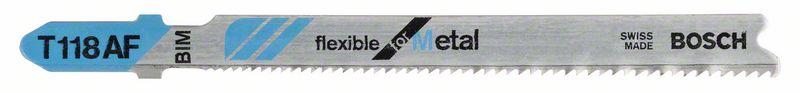 Decoupeerzaagblad T118 AF Flexible for Metal 5x