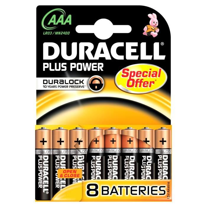 Batterij Alk Plus Power Aaa 1.5v 8