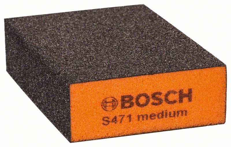 Schuurspons Best for Flat and Edge, 68 x 97 x 27 mm, middel