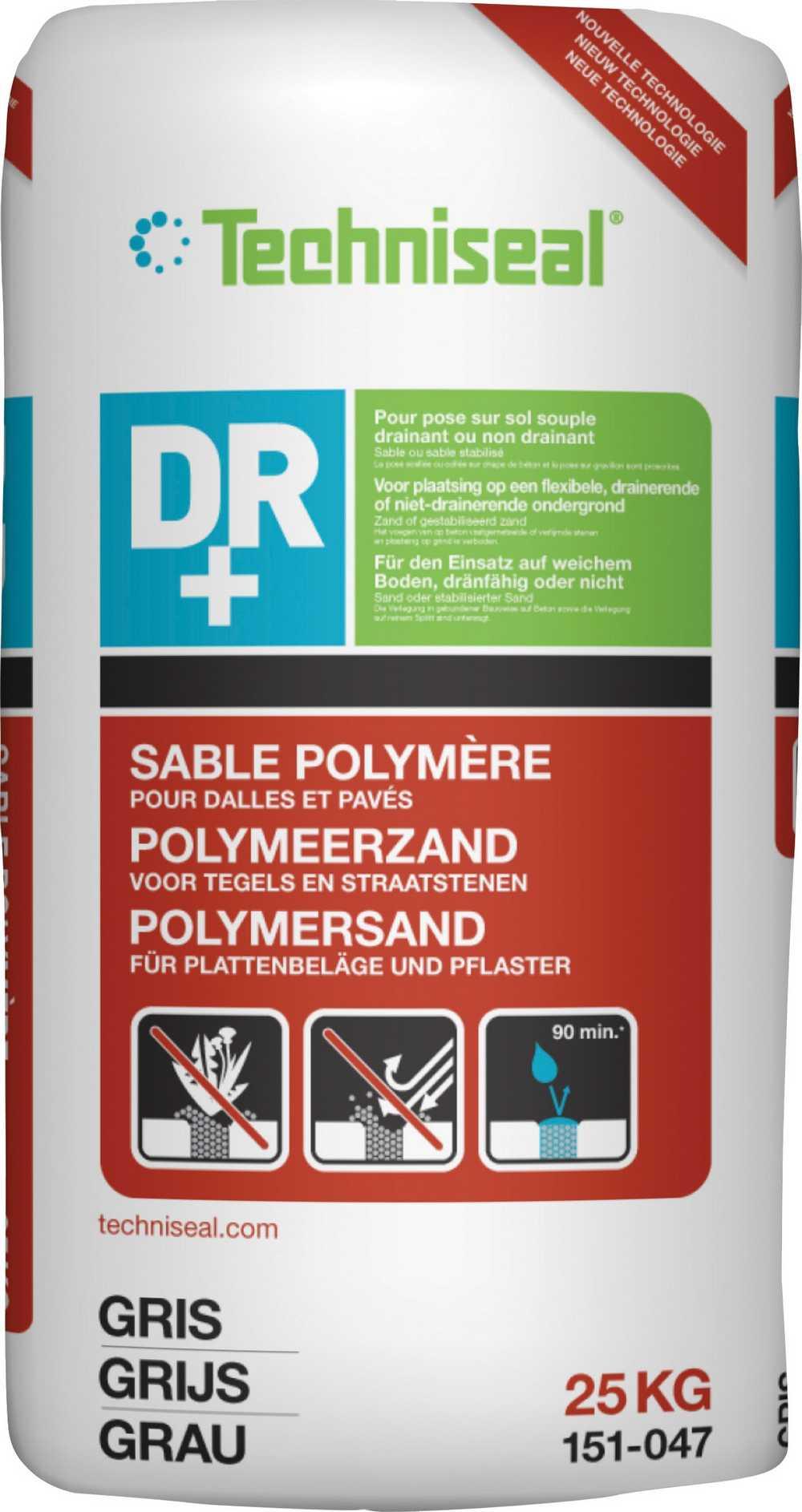 Polymeervoegsel DR+ NEXTGEL - 25kg - Grijs