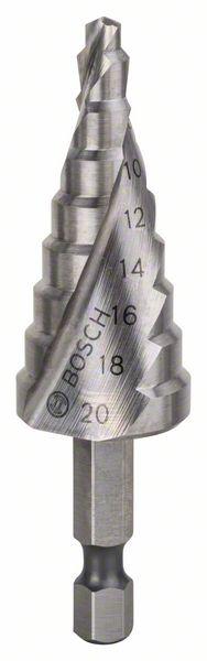 """Trappenboor HSS 4-20 1/4"""", 70,5 mm"""
