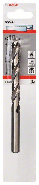 Metaalboor HSS-G, DIN 338, 10 x 87 x 133 mm