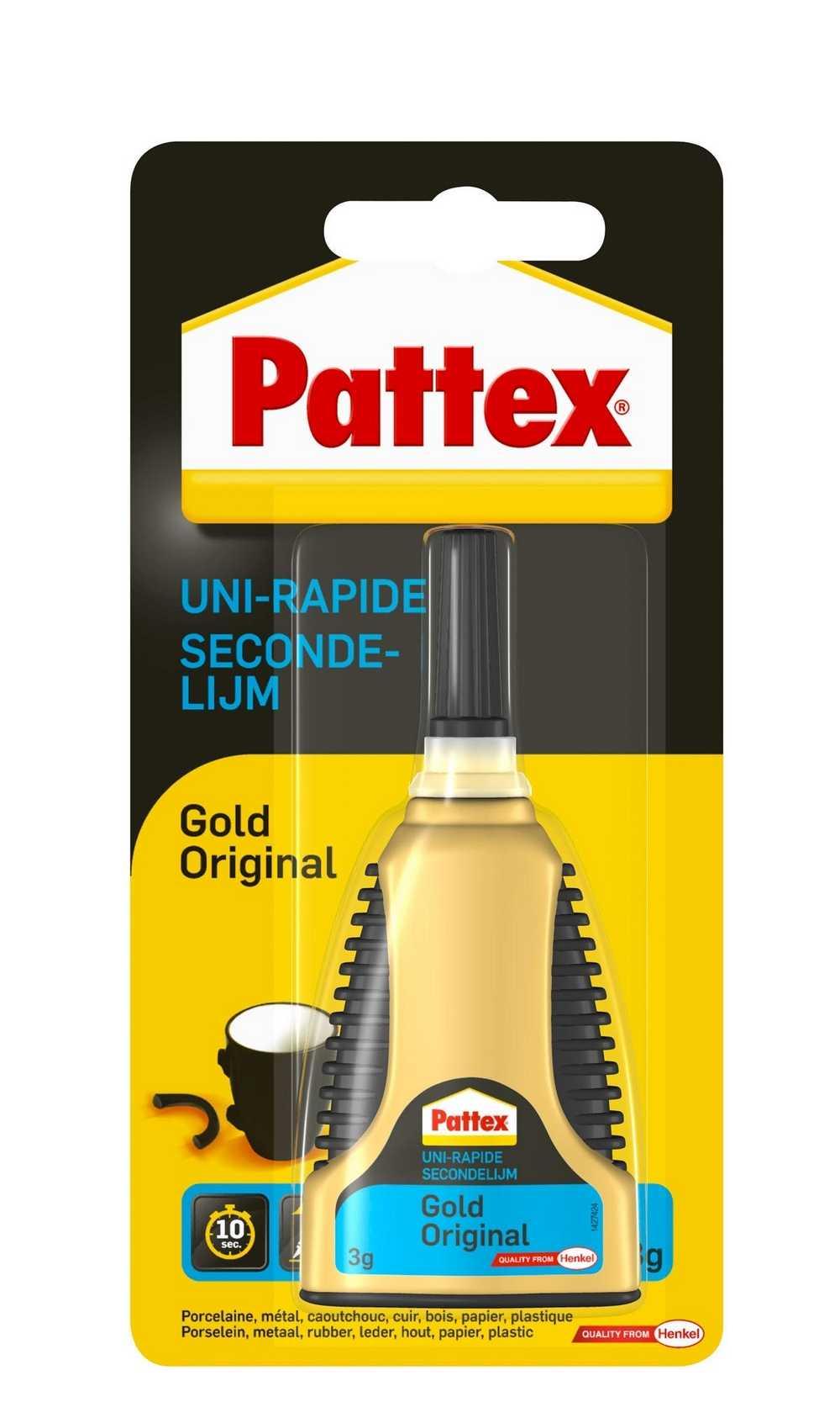 PATTEX GOLD 3 GR  PATTEX GOLD SEC.LIJM
