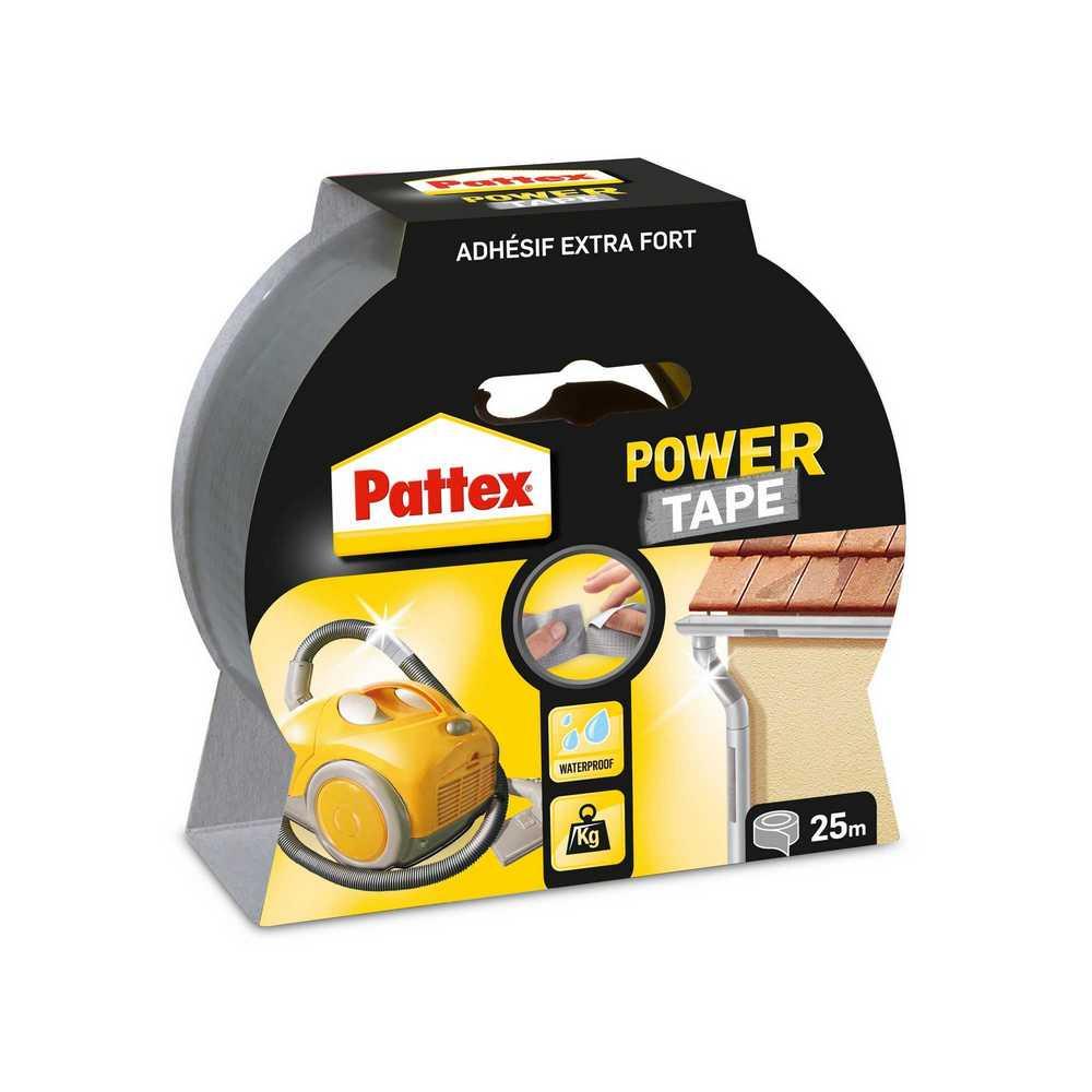 PATTEX POWER TAPE 25M GRYS BL