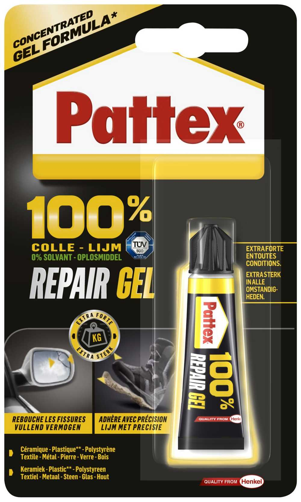 PATTEX 100% REPAIR GEL 8G  PATTEX 100% REPAIR GEL 8G