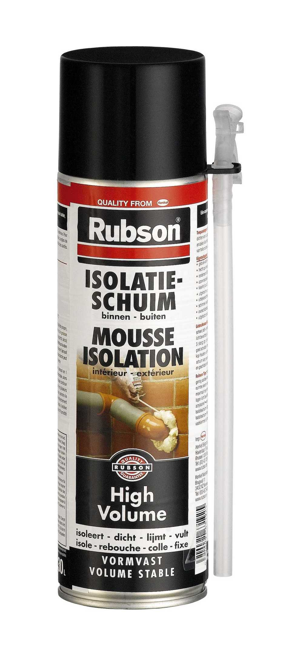 RUBS.HIGH VOLUME 500ML+50%G  RUBSON ISOL.H.VOL 500ML+50%
