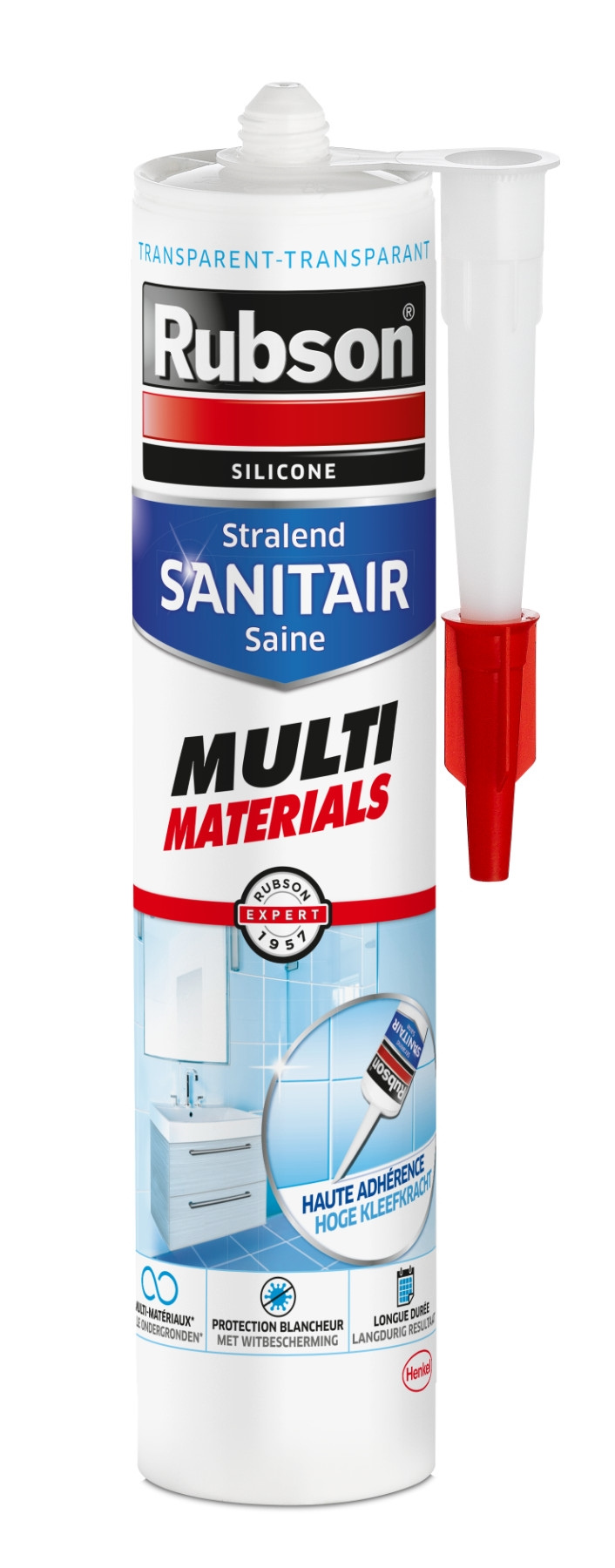 RUBSON SAN MULTI MAT TR 280ML  RUBSON SAN. MULTI MATERIALSTR