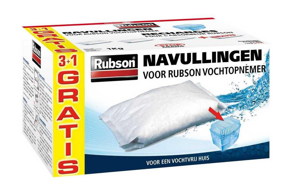 RUBSON NAVULLING 1KG 3+1  RUBSON NAVULLINGEN 3+1KG GRAT.