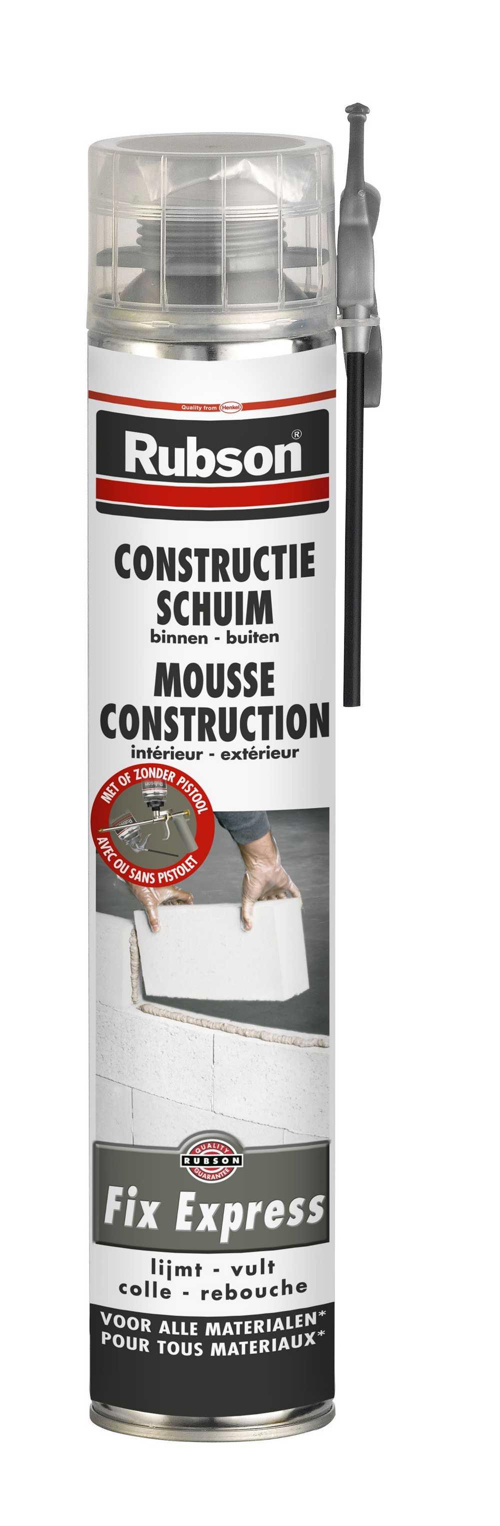 RUBSON CONSTRUCTIESCHUIM 750ML  RUBSON CONSTRUCTIE SCHUIM