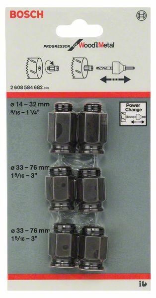 6-delige overgangsadapterset 40-30