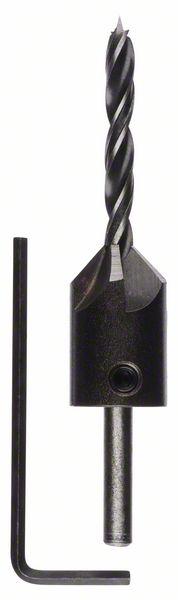 Houtspiraalboor met verzinkboor 5 x 45 x 85 mm