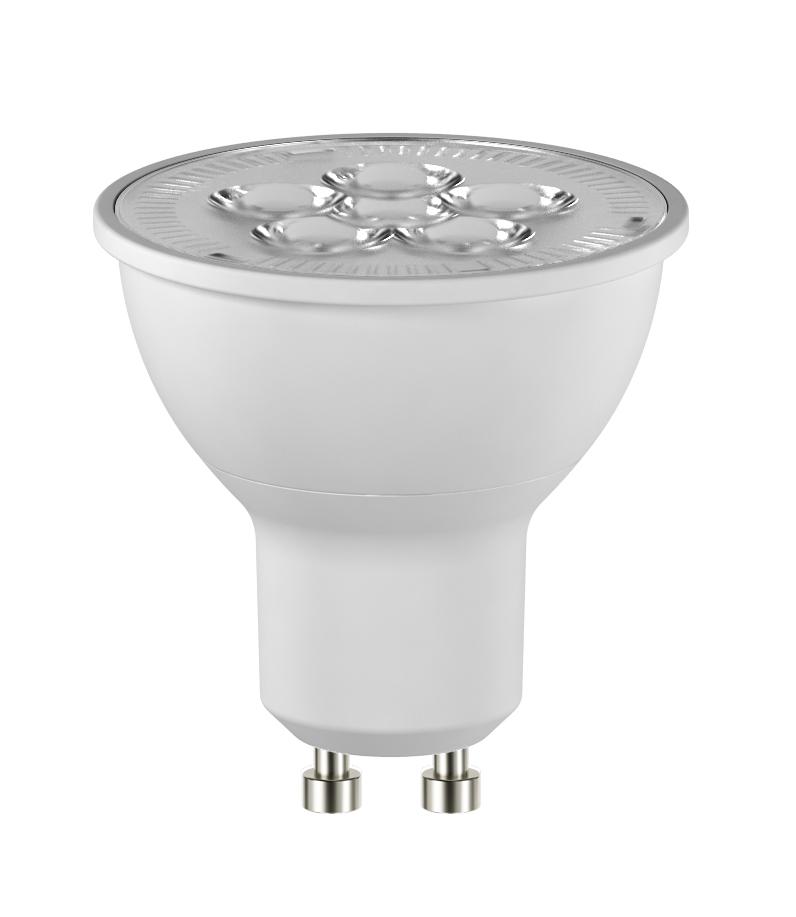 LED REFL GU10 6.5W 450LM 36° DIM