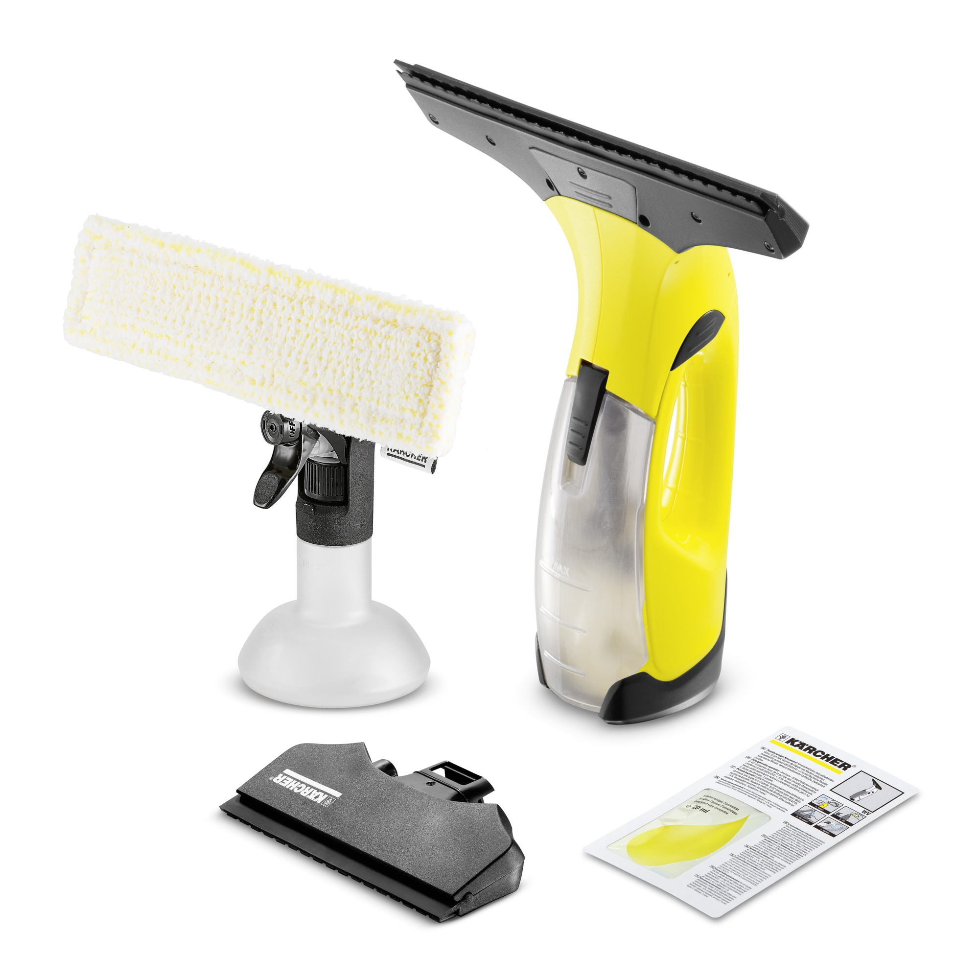 Window Vac WV 2 Premium Yellow