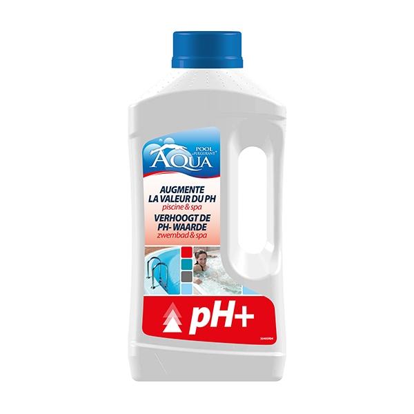 PH+ om de Ph te verhogen in het zwembad en spa 1L