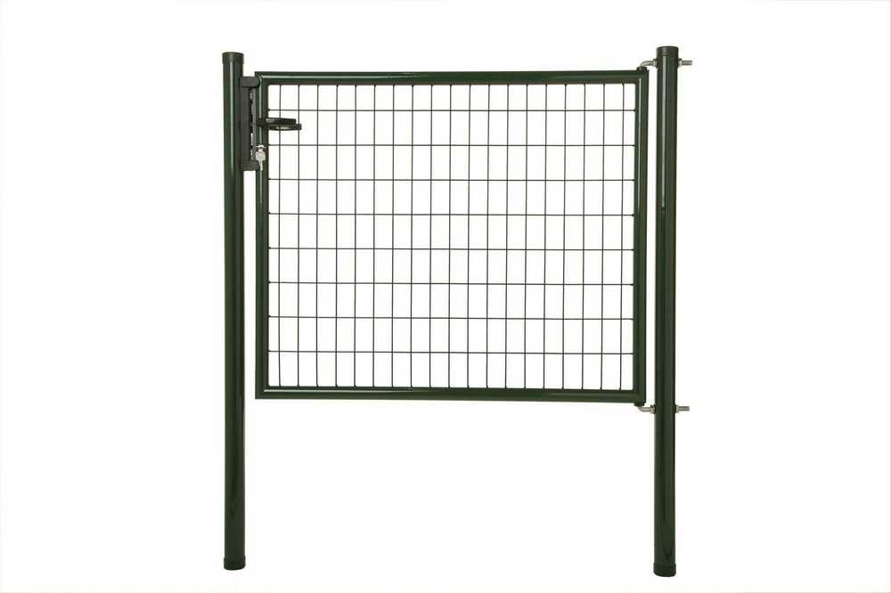 Napoli poort H 120 x L 125cm RAL 6005 groen