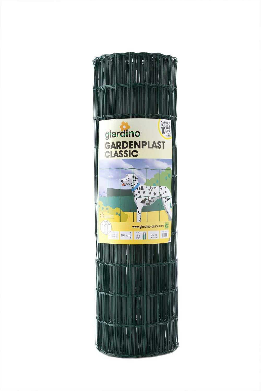 Gardenplast Classic 122cm x 25m RAL 6005 groen