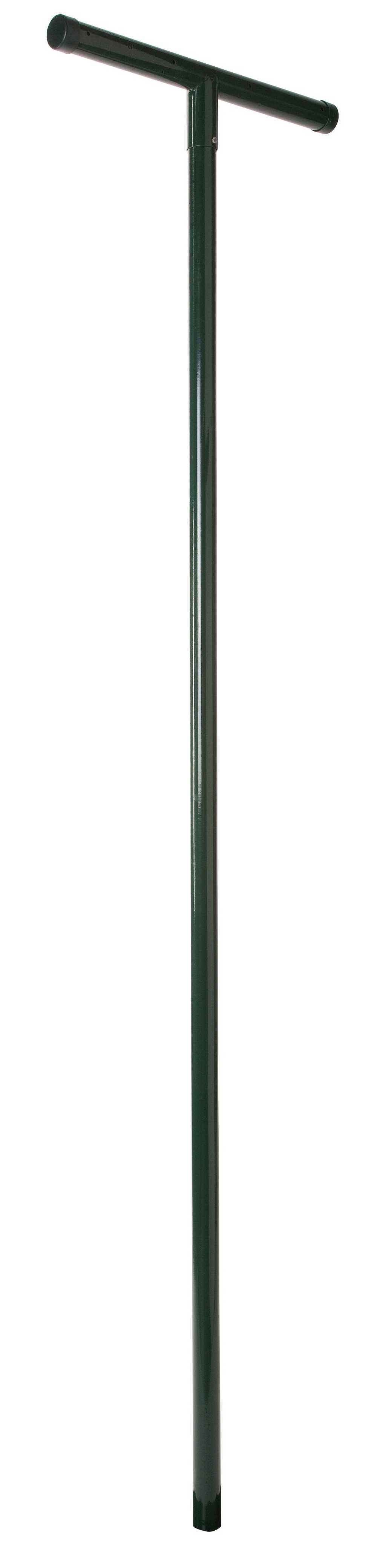 Polyester gepl. Tuinwaspaal 48mm x 240cm RAL 6005 groen
