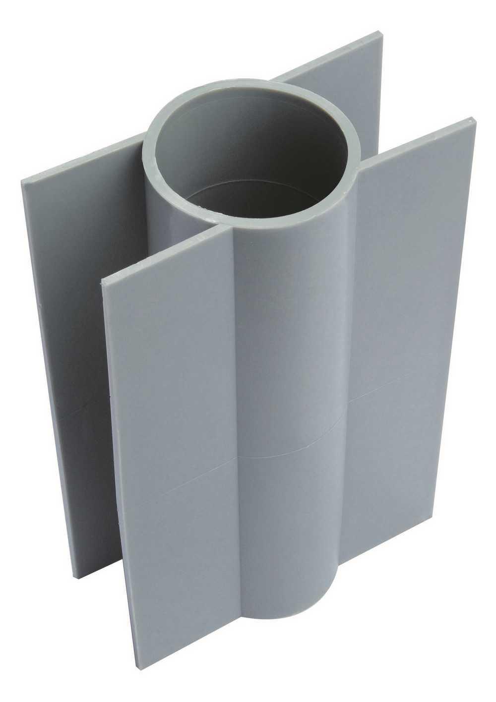Betonplaathouder 60mm/28cm hoog, uit 1 stuk