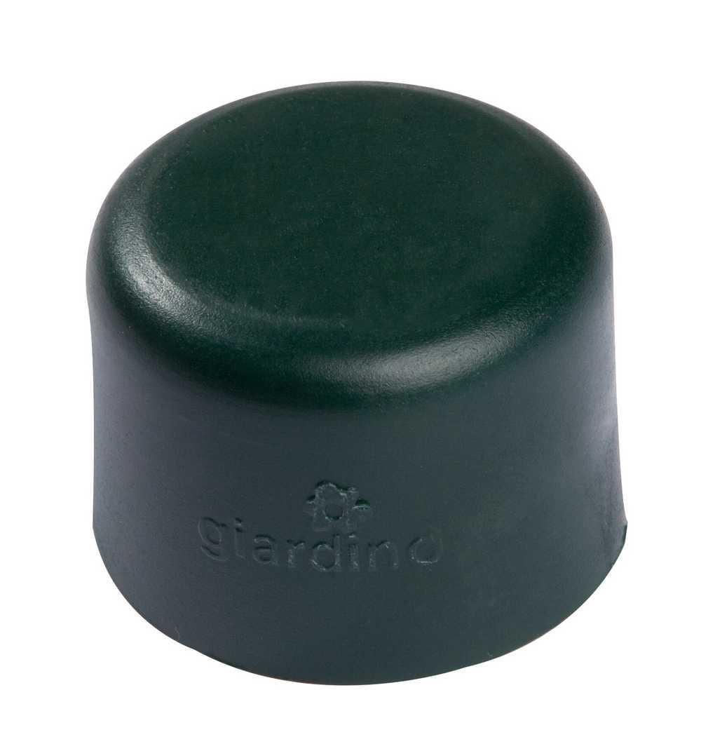 Dop paal 34mm RAL 6005 groen