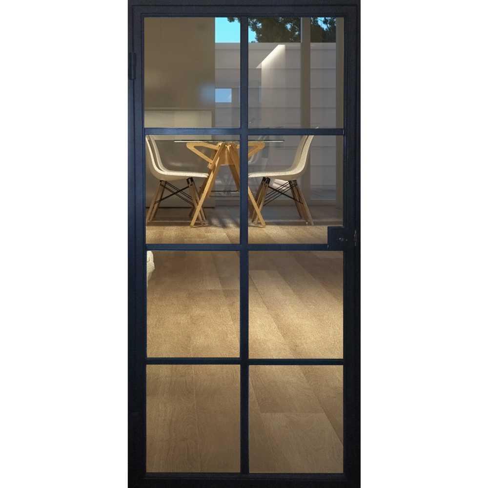 STALEN DEUR - Binnenkader 8 glasverdelingen