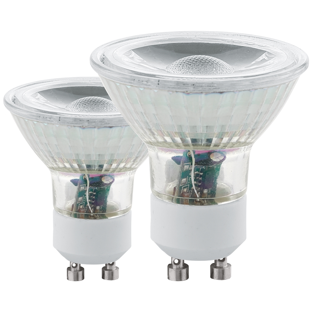 LED GU10 COB SPOT 2X 240LM 3000K (2st. In blister)