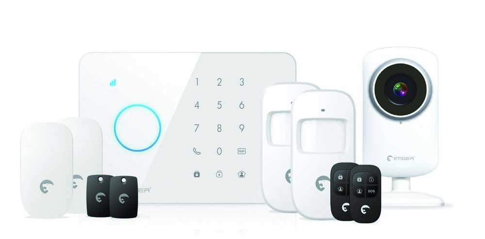 ALARMSET DRAADLOOS GSM +IPCAM