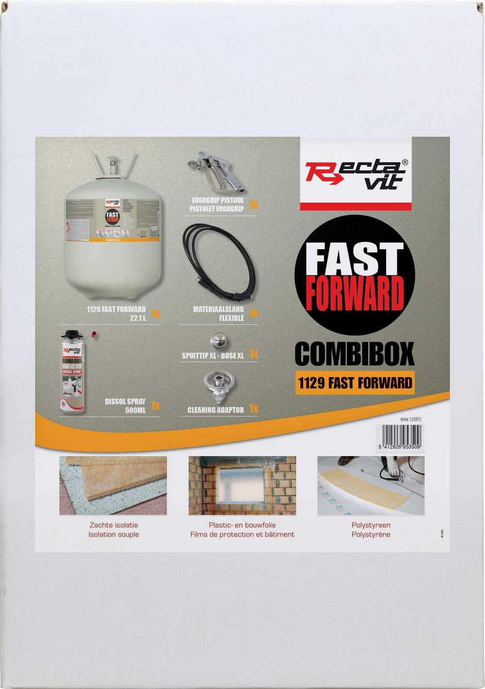 Starterspakket voor 1129 Fast Forward: canister 1129 Fast Fo