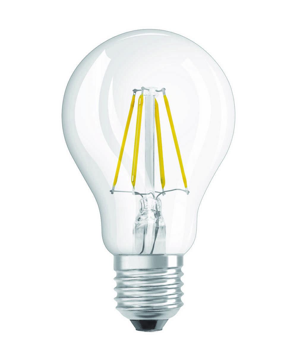 LED RETROF CLA40 E27 4W WW HELD FIL