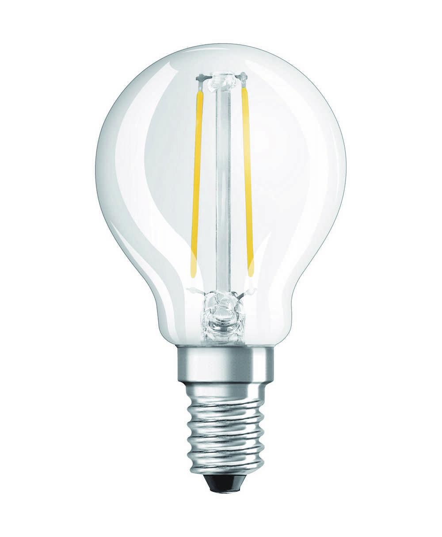 LED RETROF CLP25 E14 2W WW HELD FIL