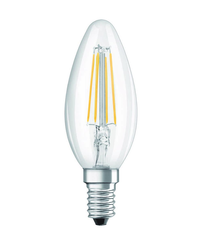 LED RETROF CLB37 E14 4W WW HELD FIL