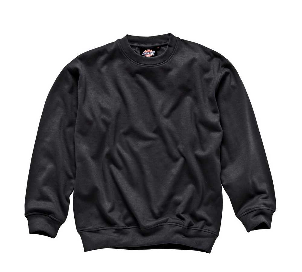 Sweat Shirt Black Large