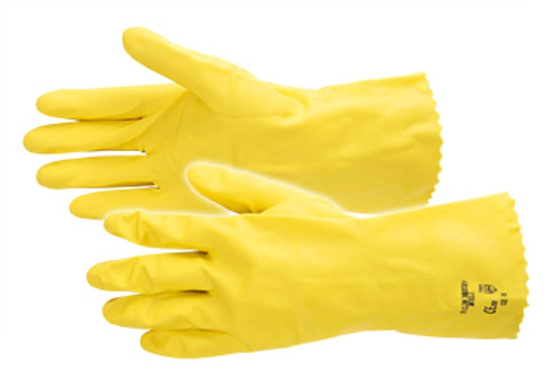 HANDSCHOEN PRO-CLEAN INDUSTRY LATEX  8