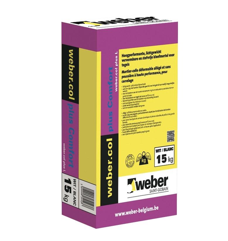 webercol plus Comfort  grijs 15 kg