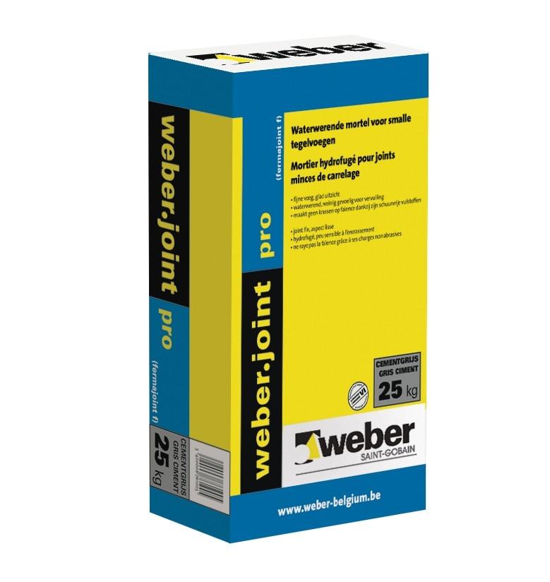 weberjoint pro cementgrijs - 5 kg - (216/pal)