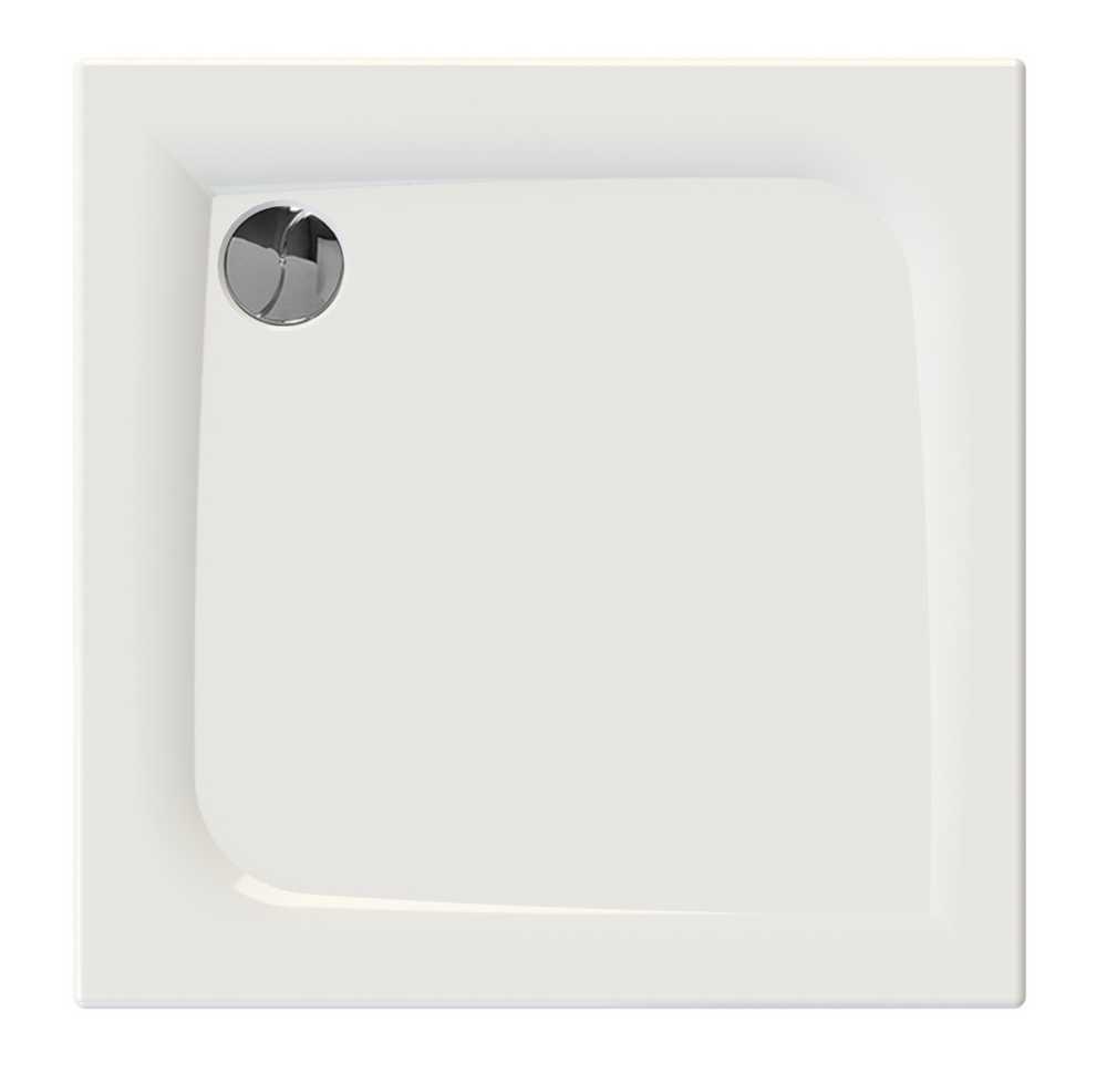 JACANA 2 Vierkant - 80 x 80 x 3 cm - Wit