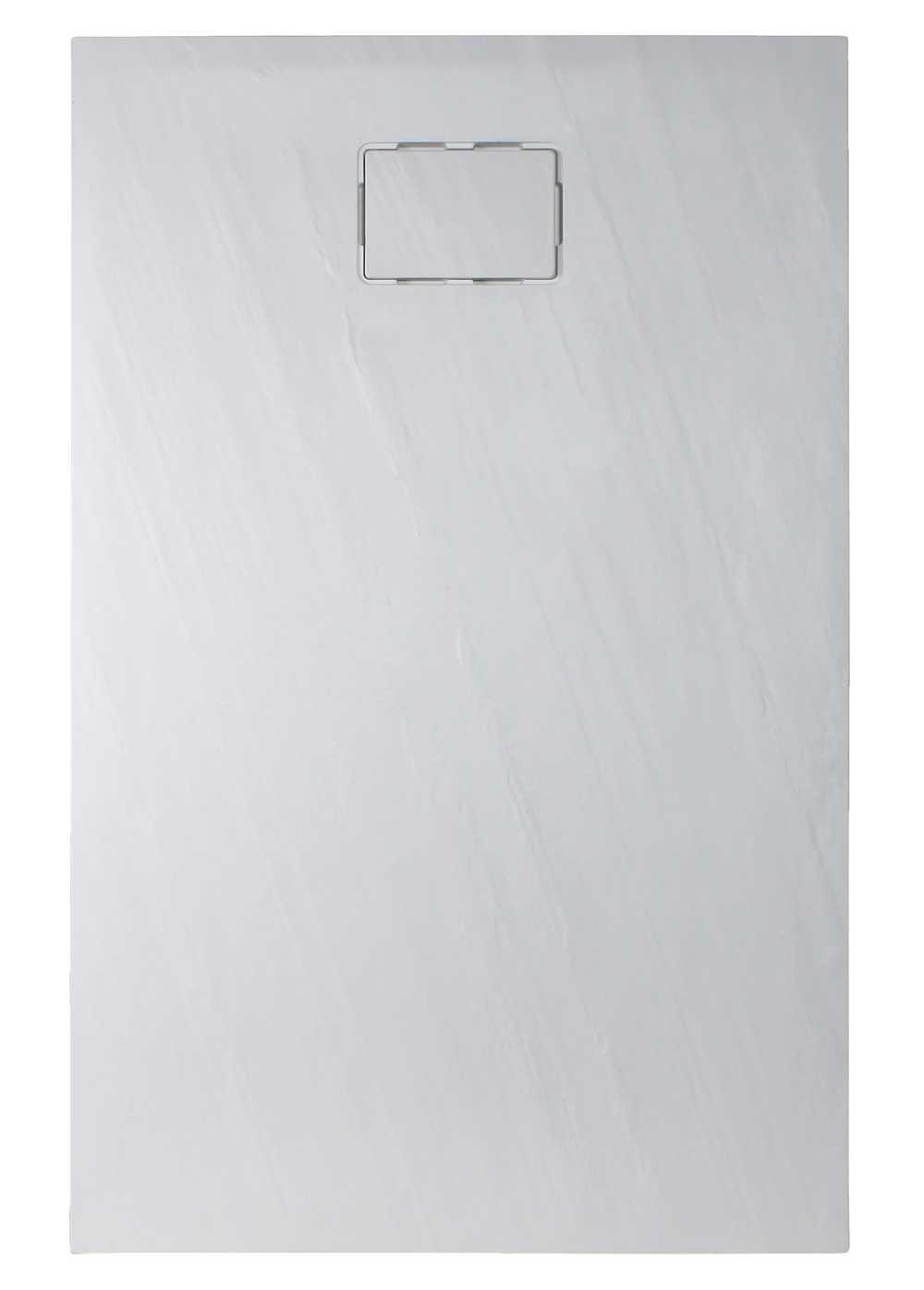 ROCKSTONE RECHTHOEKIG Wit -  140 x 90 x 3,5 cm