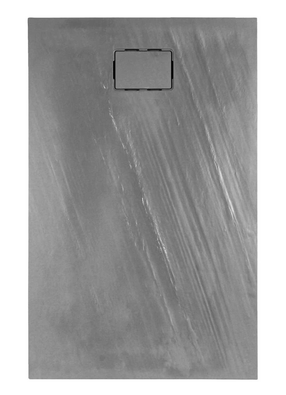 ROCKSTONE RECHTHOEKIG Grijs Leisteen -  140 x 90 x 3,5 cm