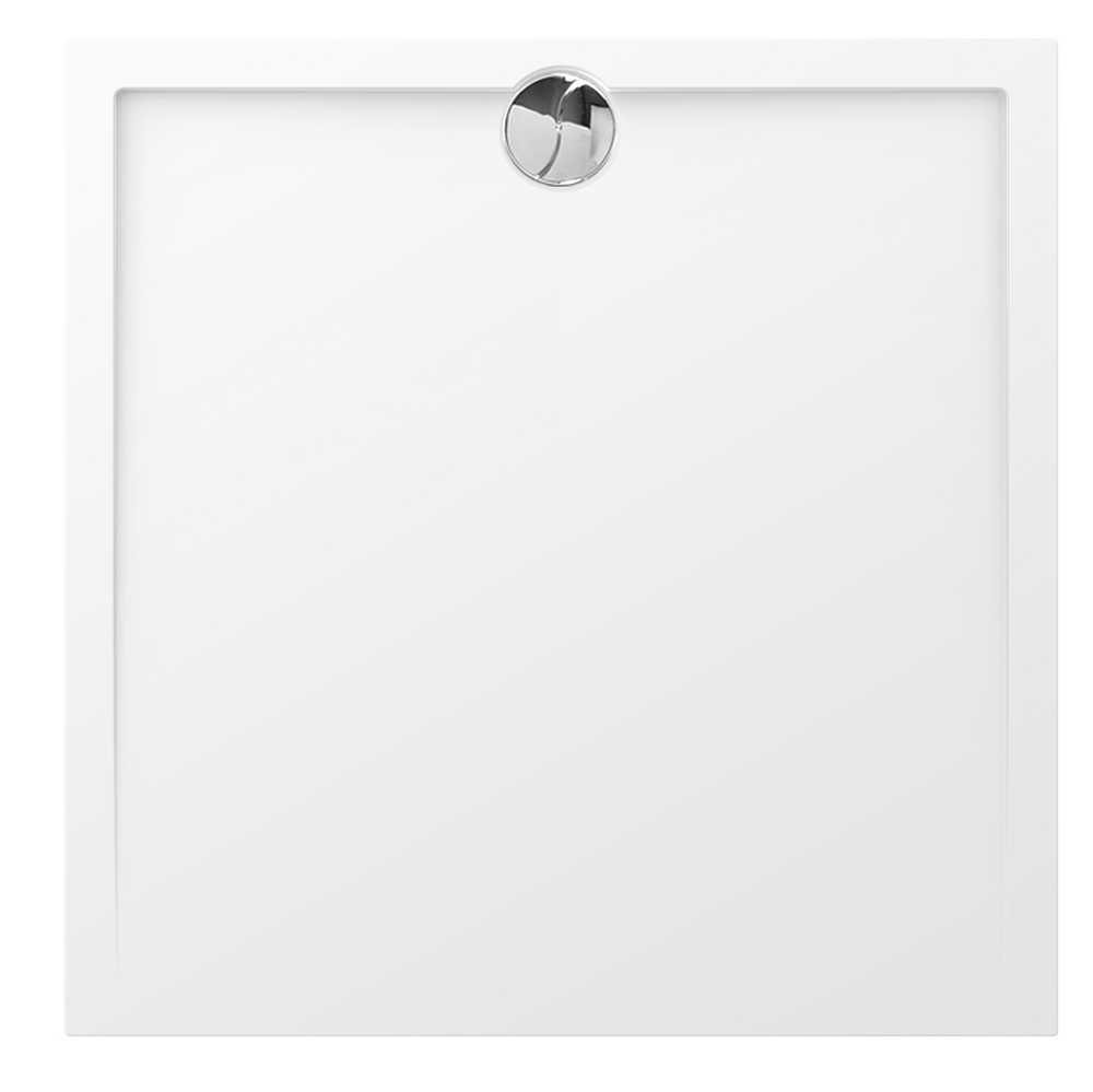 SLIM VIERKANT - 100 x 100 x 4 cm - Wit