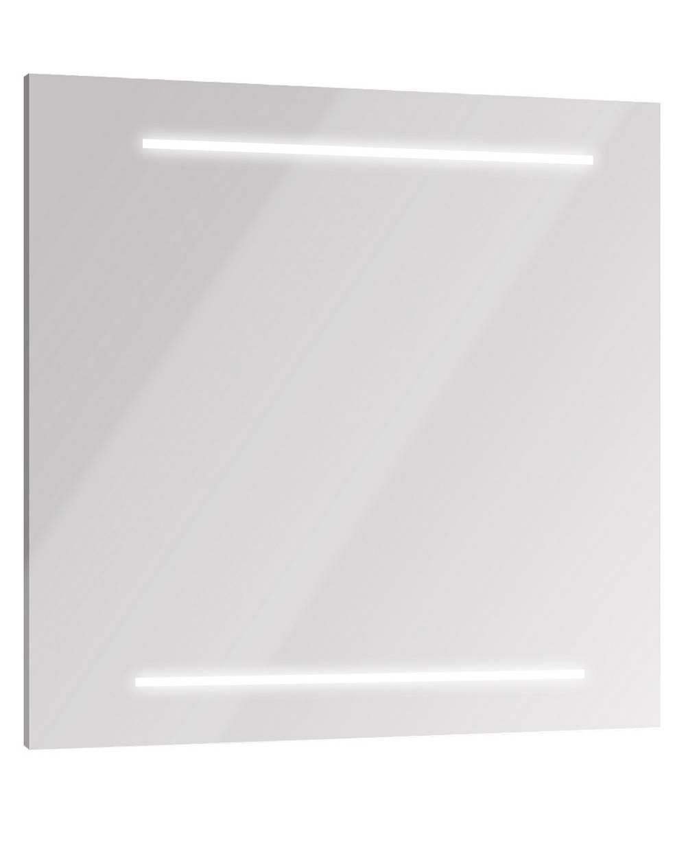 SELFY Spiegel met verlichting 80 cm Mat Grijs Aluminium