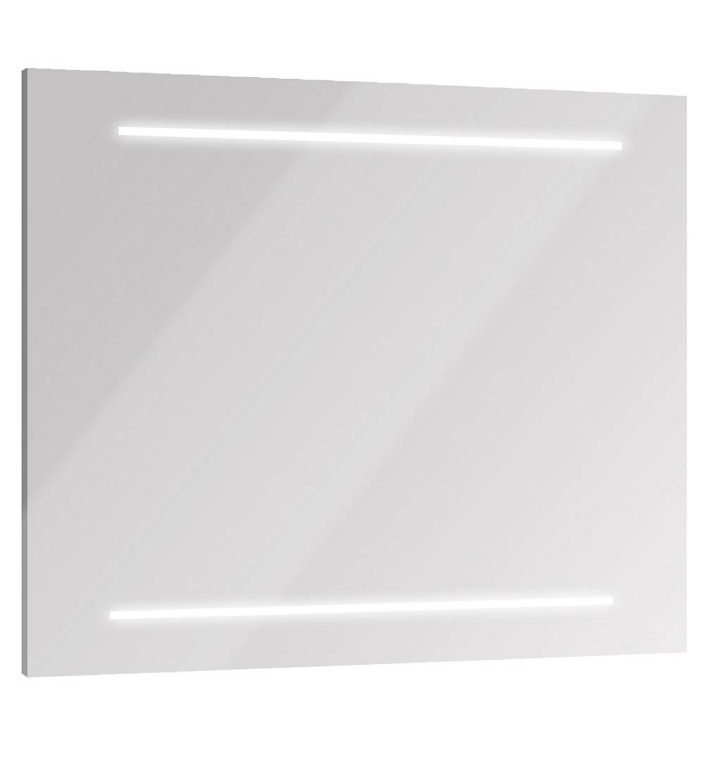 SELFY Spiegel met verlichting 100 cm Mat Grijs Aluminium