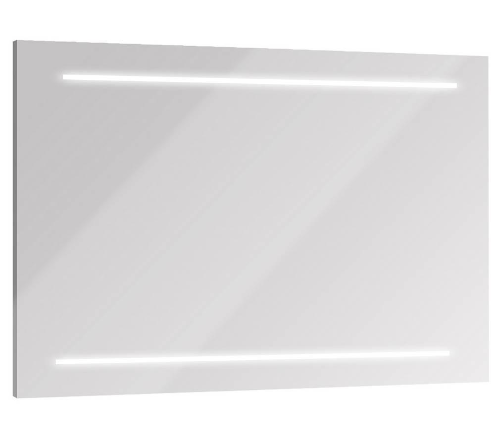 SELFY Spiegel met verlichting 120 cm Mat Grijs Aluminium