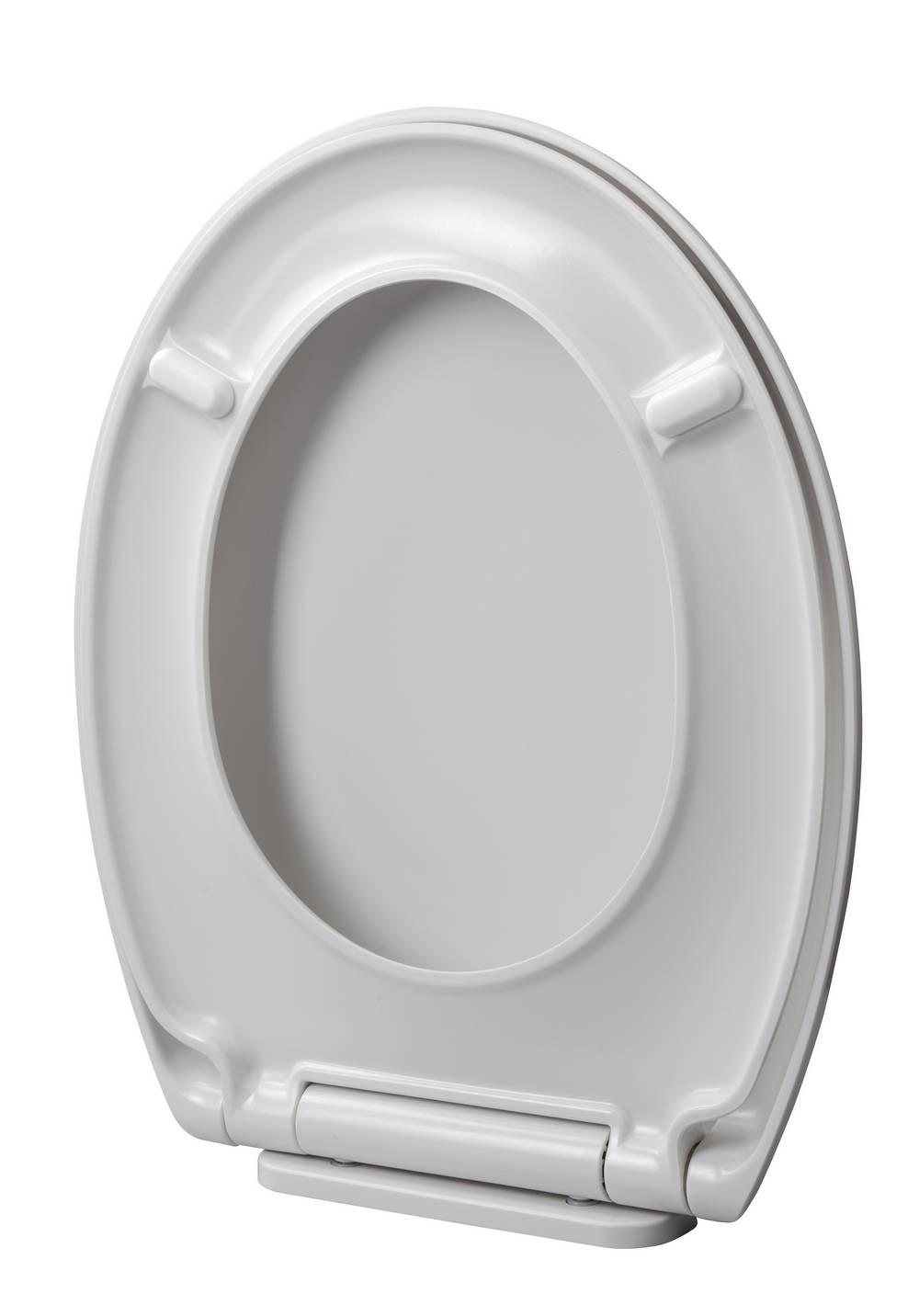 STABILITY - WC-zitting - Glanzend Wit