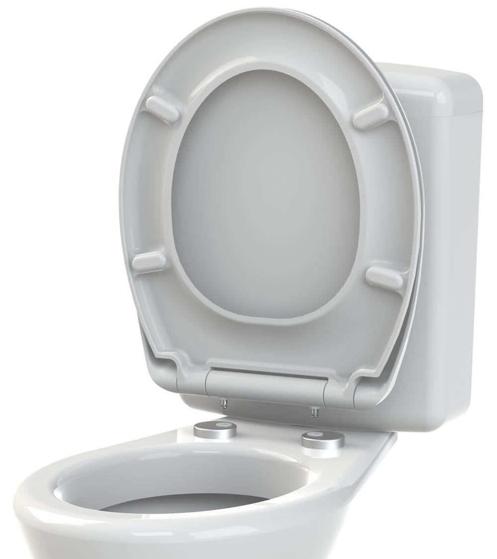 CLICK & SEAT - WC-zitting - Glanzend Wit
