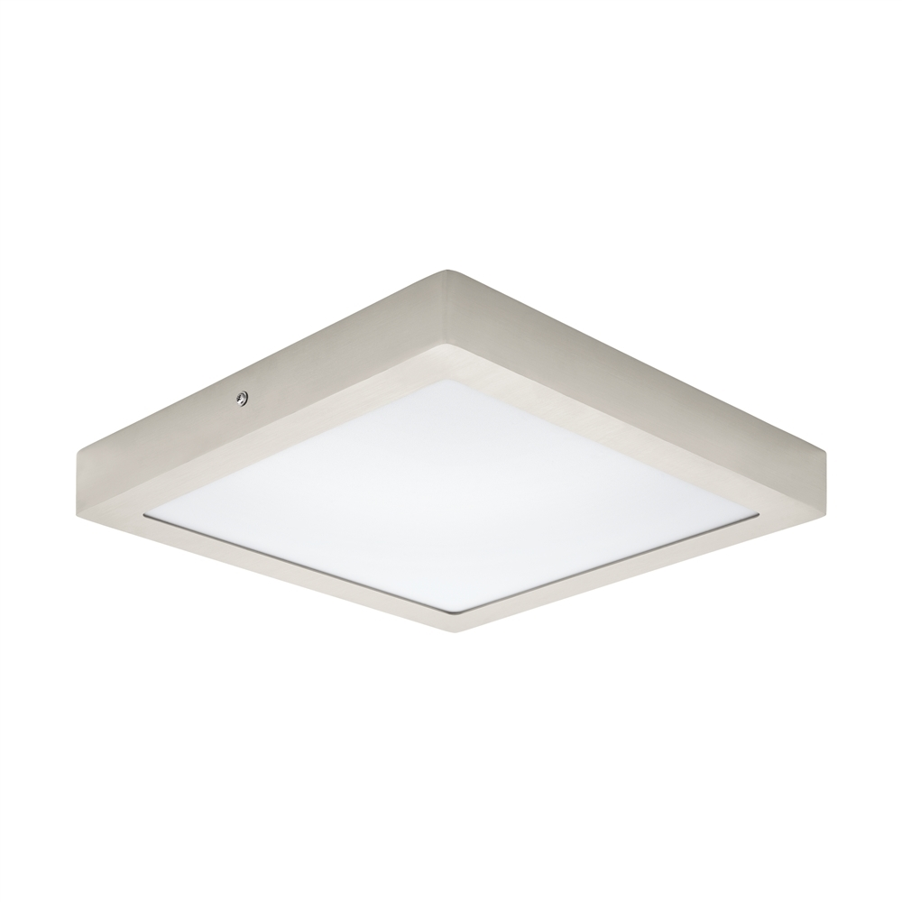 LED-PLAF. 300X300 NIKKEL 3000K 'FUEVA 1'