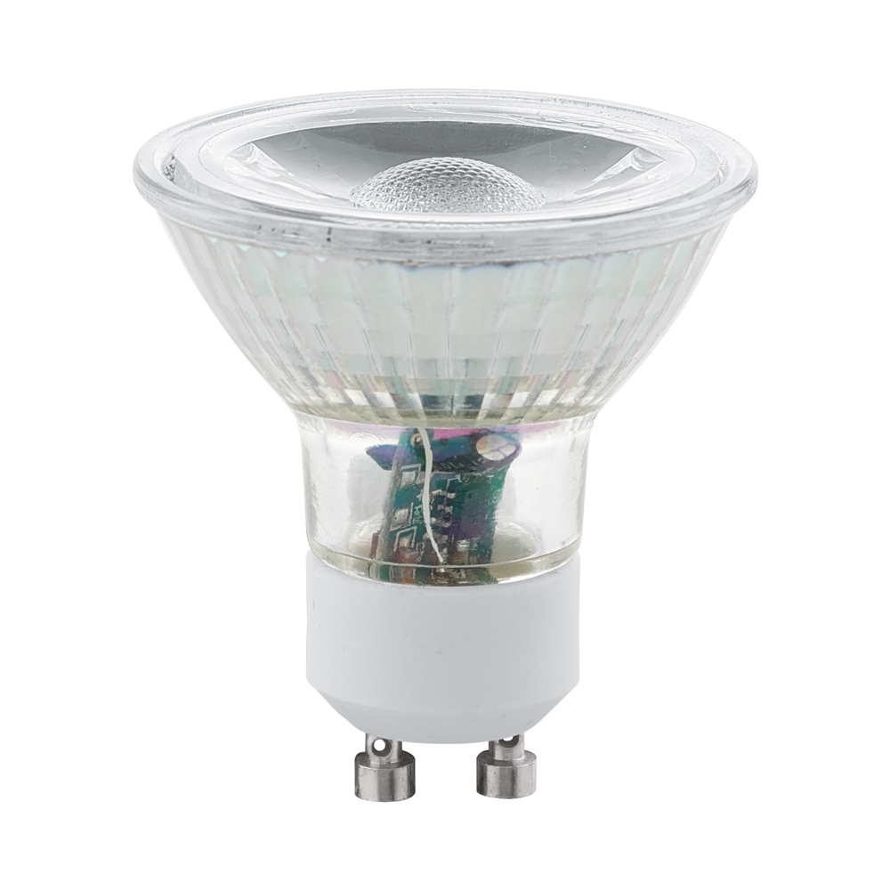 LED GU10 COB SPOT 2X 400LM 3000K (2st. In blister)