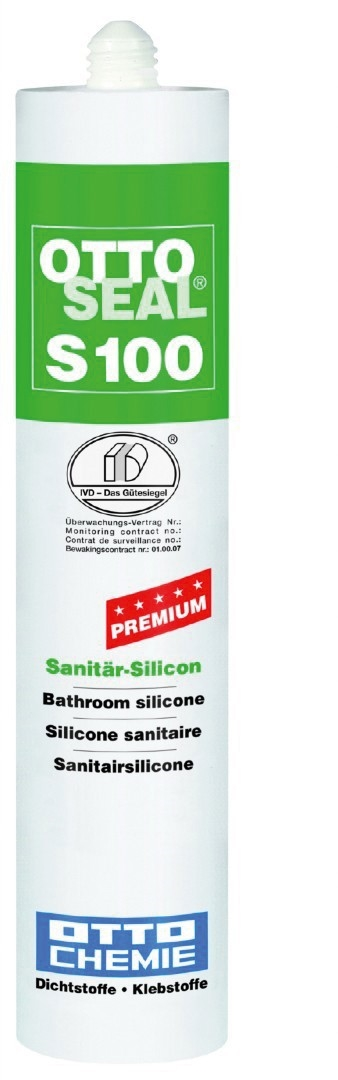 Ottoseal S100 C1172 Titaangrijs 300 ml
