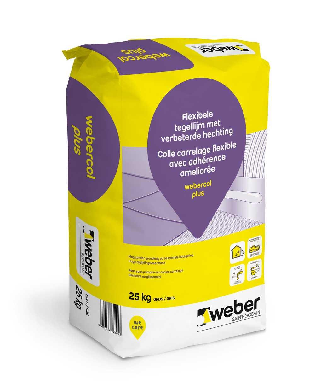 webercol plus Low Dust  wit 5 kg
