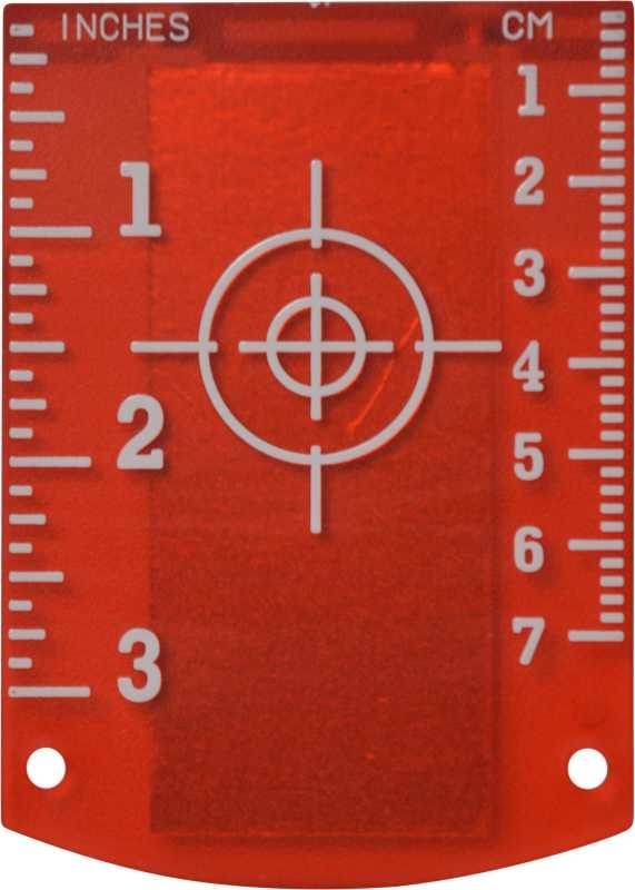 Magnetic Target Plate Red
